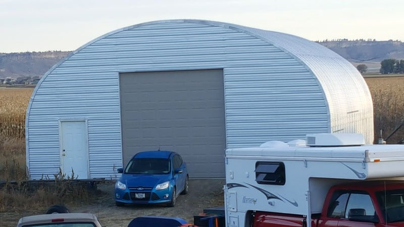 Steel Master Building For RV