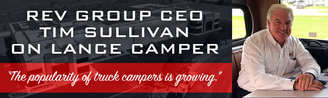 Tim Sullivan CEO REV Group