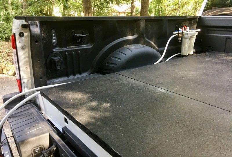 Water Filtration In Truck Bed