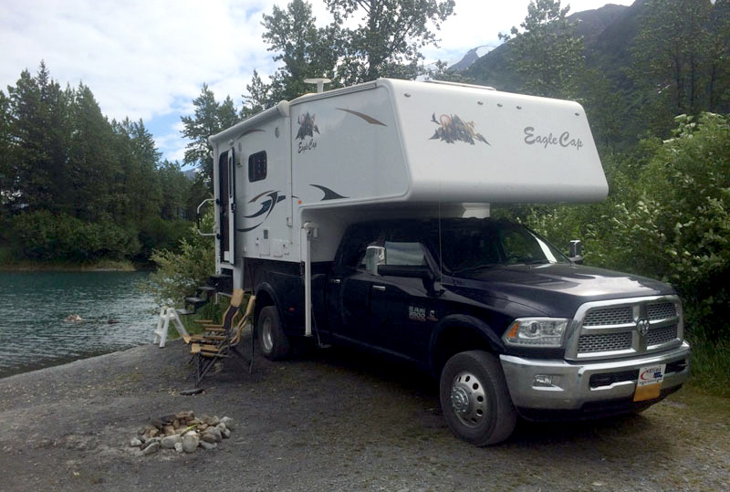 Favorite Boondocking Camp Spots In The Portage Valley, Alaska