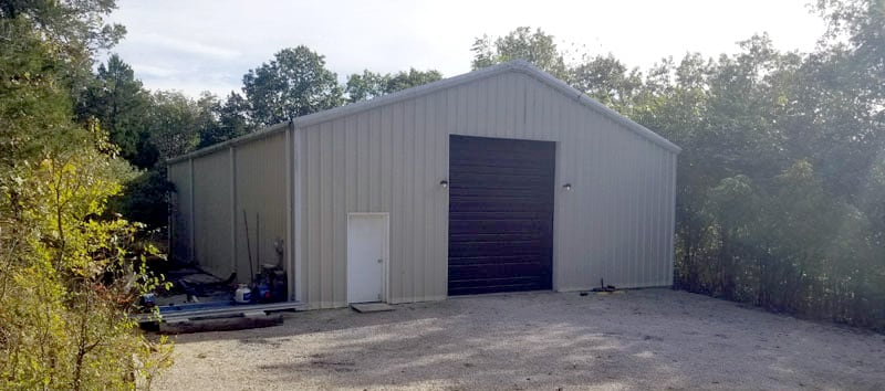 Steel Building For Camper Storage