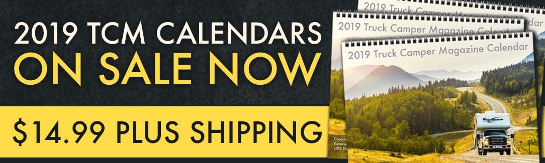 2019 Truck Camper Calendar Sale