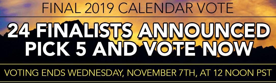 2019 TCM Calendar Vote Final