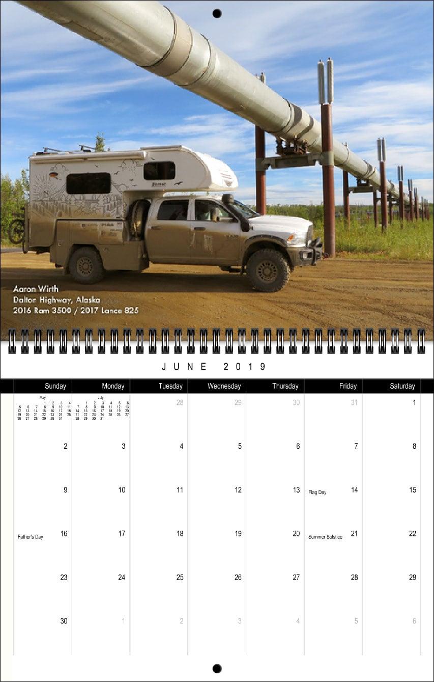 2019 TCM Calendar June