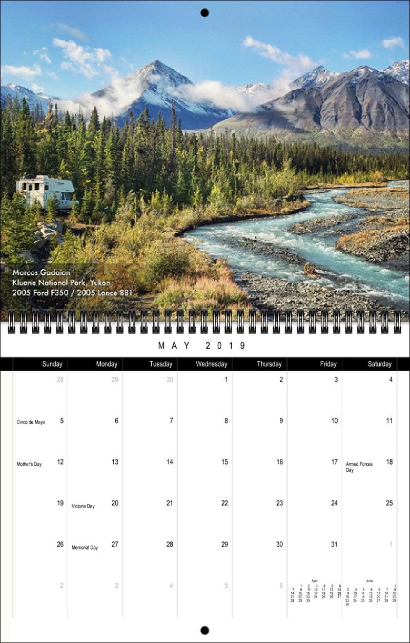 2019 TCM Calendar May