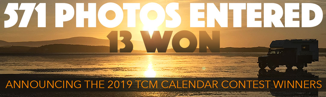 Announcing The 2019 Tcm Calendar Contest Winners Truck