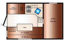 2019 Floor Plan Travel Lite 625SL