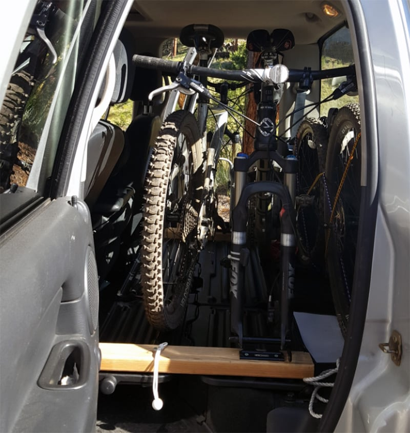 Back Seat Bike Storage