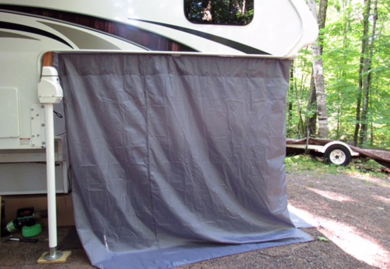 Cabover Tent Storage