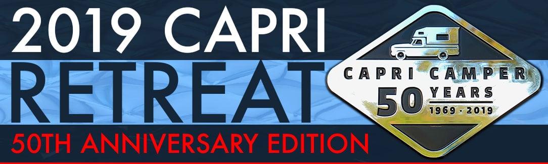 Capri Camper 50th Anniversary