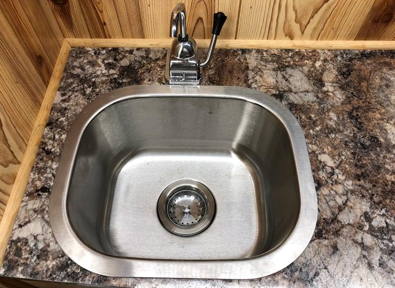 Capri Camper Hand Pump Sink