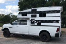 Capri Retreat on a Long Bed Truck