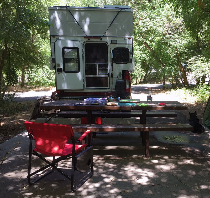 Cherry Creek Campground No Hookups