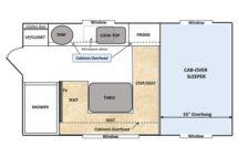 Floor Plan 50th Capri Retreat