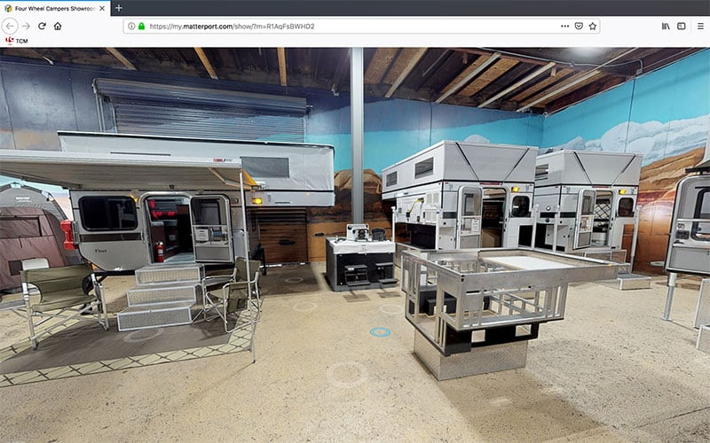 Four Wheel Campers Virtual Tour