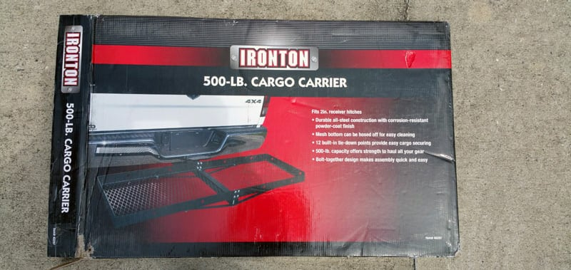 Hitch Cargo Carrier Box