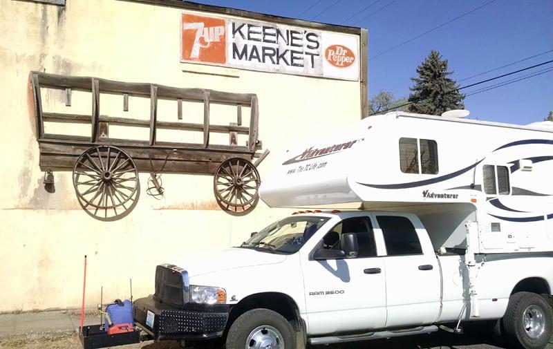 Keene's Market Sign