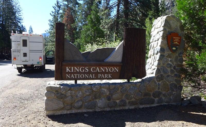 Kings Canyon Sign California