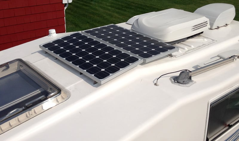 Northern Lite Two Solar Panels Side By Side