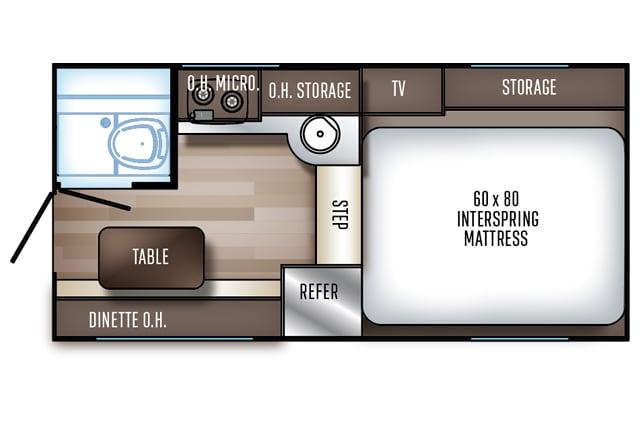 Palomino HS 750 Floor Plan Buyers Guide