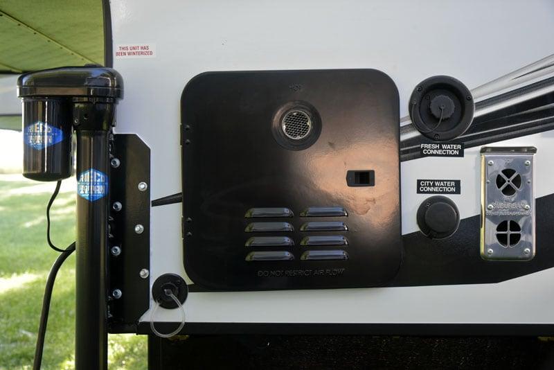 Palomino HS-750 Water Heater