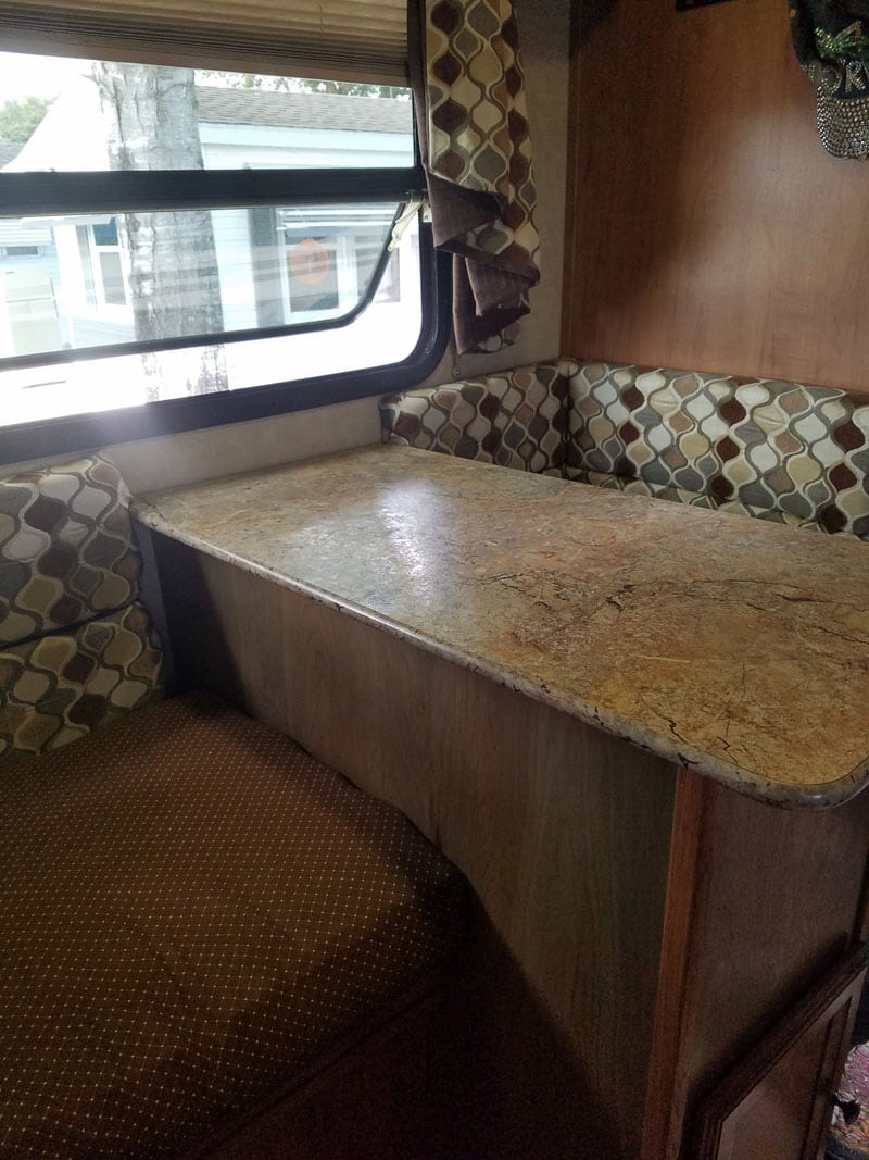 Palomino Dinette Restructure Completed