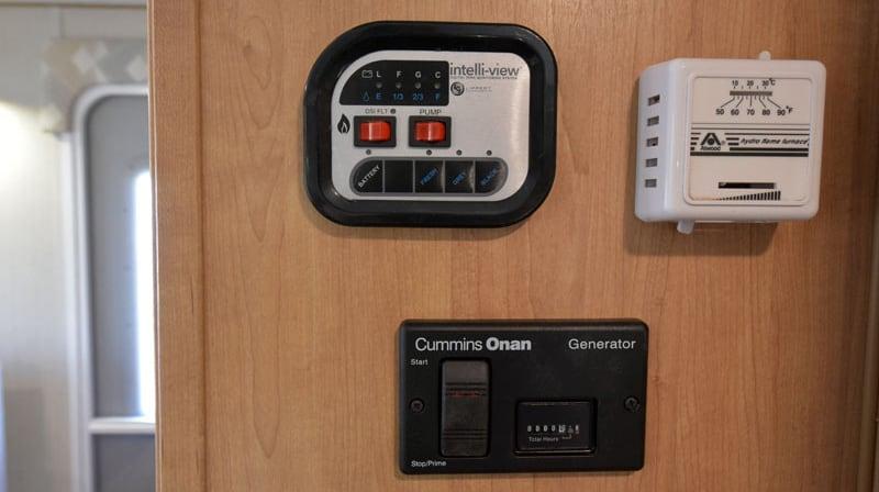 Polar Camper Controls