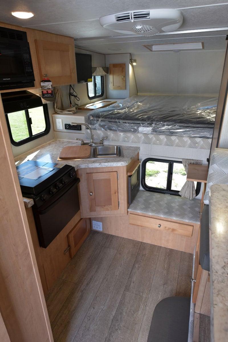 Polar Camper Floor Space