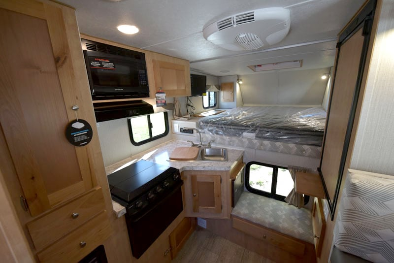 Polar Camper Inside 2019