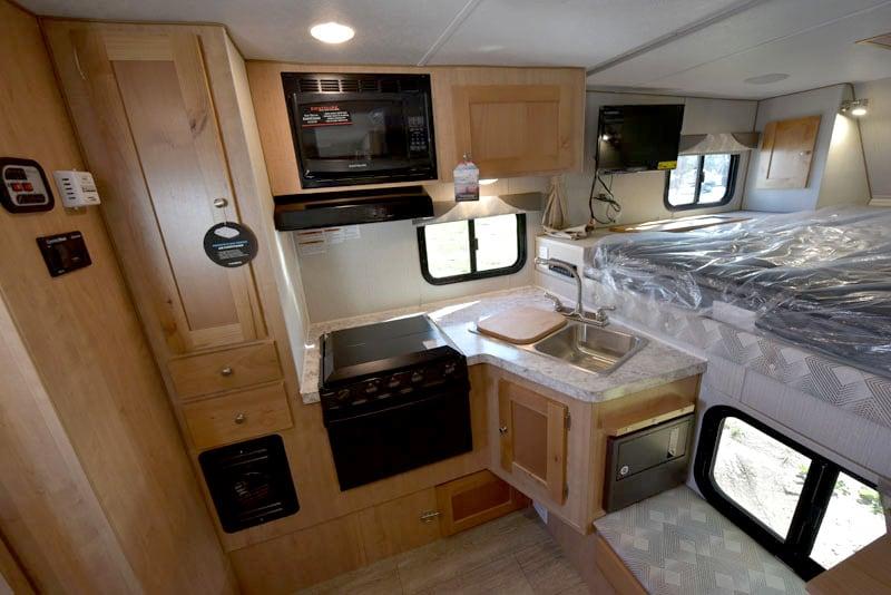 Polar Camper Kitchen