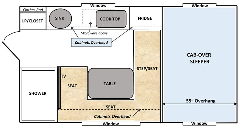 Retreat Floor Plan 50th Anniversary