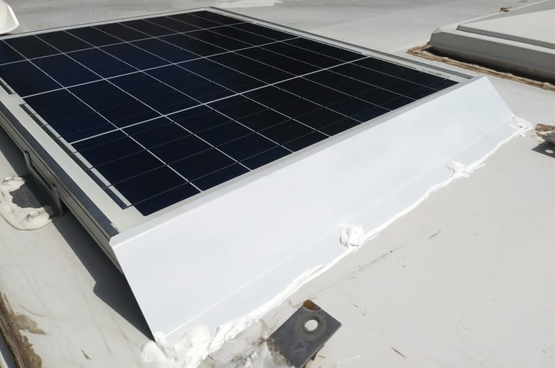 Solar Panel Protective Shield