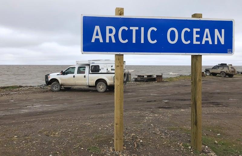 Arrival To Tuktoyaktuk Arctic Ocean