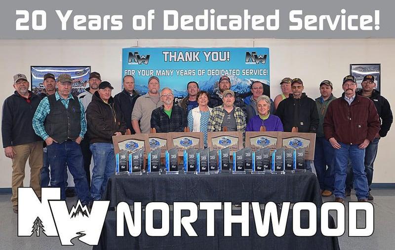 20 Years Working At Northwood