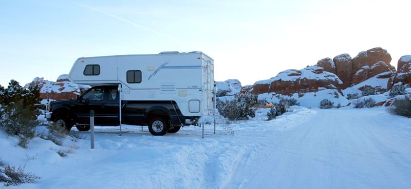 Christmas At Arches NP