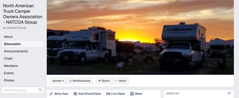 Facebook Page For NATCOA