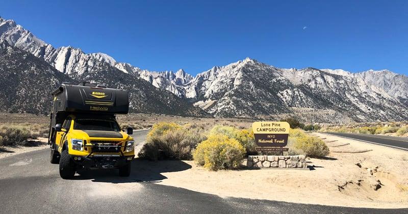 Lone Pine Campground Rule Breaker