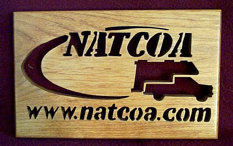 NATCOA Logo Wood