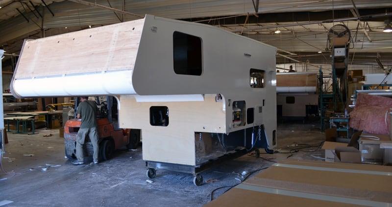 Northwood Camper Production Line