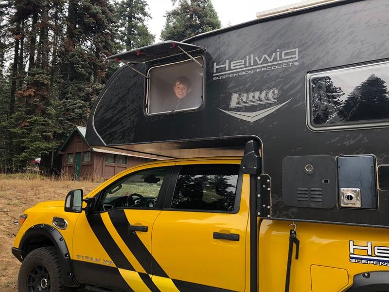 Rule Breaker Family Camping