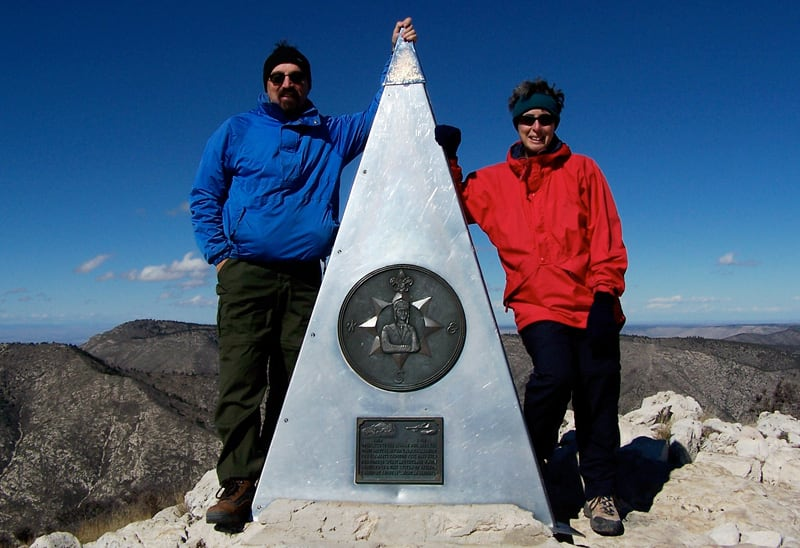 Summit Guadalupe Peak Texas