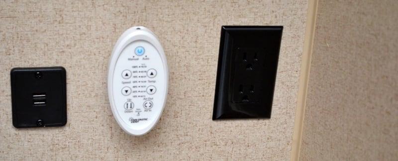USB Ports In Bedroom