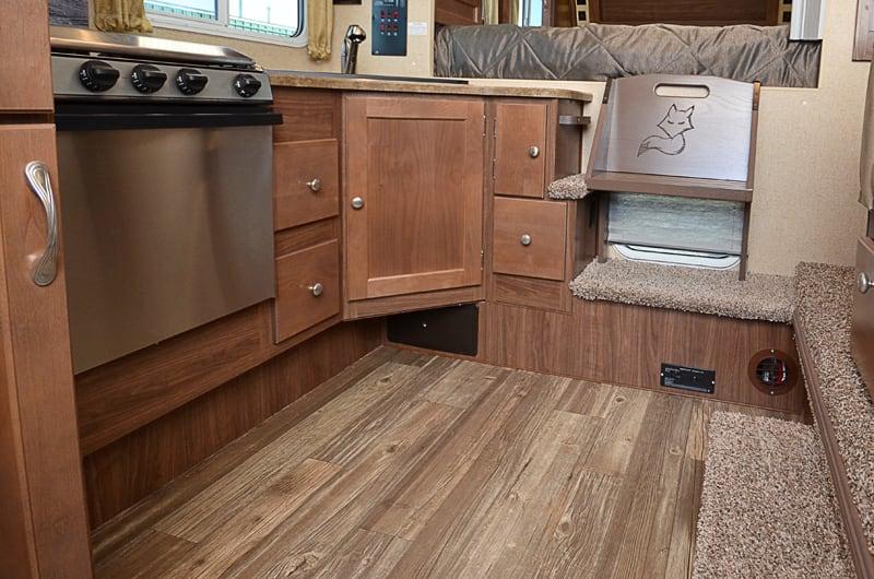 Wood Grain Linoleum