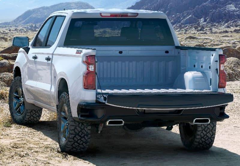 2019 Chevrolet Silverado Bed Dimensions
