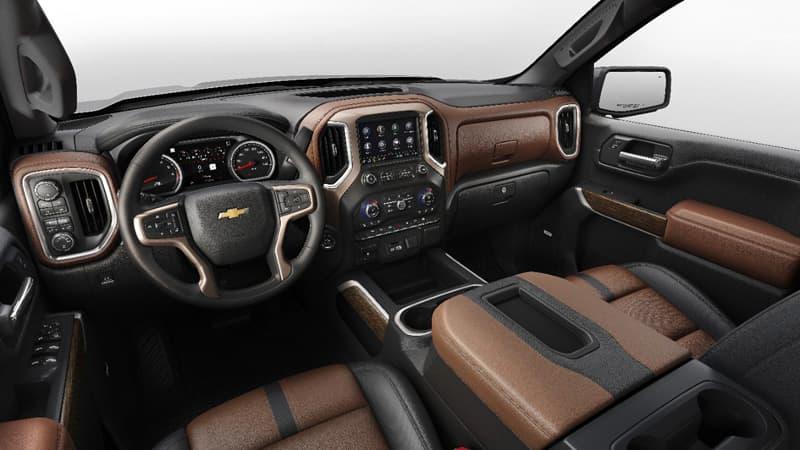 2019 Chevrolet Silverado High Country Interior