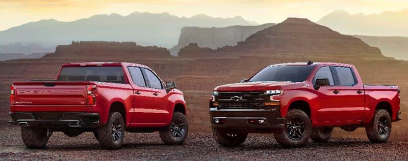 2019 Chevrolet Silverado Trucks