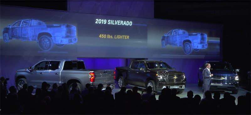 2019 Silverado 450 Pounds Lighter