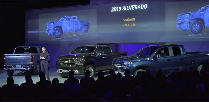 2019 Silverado Higher And Taller Cab