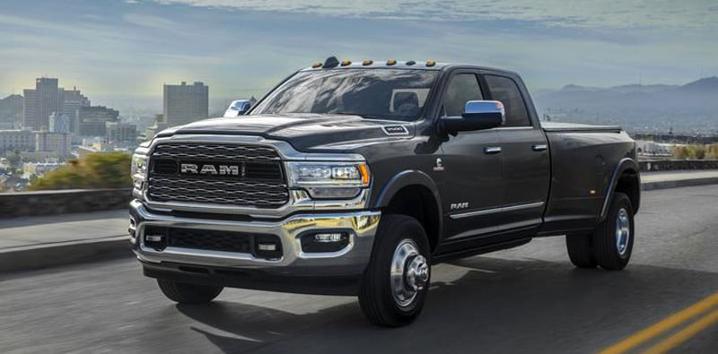 2019 Ram 3500 HD Limited Crew Cab Dually