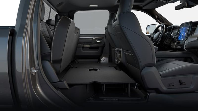 2019 Ram HD Crew Cab Rear Flat Load Floor